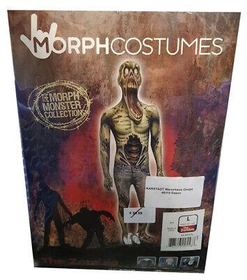 Halloween Kostüm MorphCostumes Zombie Monster Größe L Erwachsene (177cm)