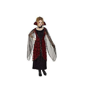 TOTALLY GHOUL WOMEN'S WINGED VAMPIRESS HALLOWEEN COSTUME SIZE OSFM NWT!