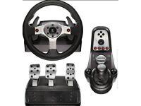 Logitech g25 race wheel brand new