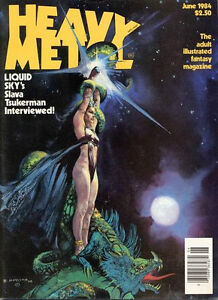 Retro: Heavy Metal Magazine (June 1984). Good Condition!