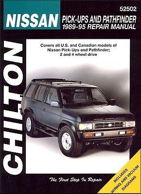 Chilton 52502 Repair Manual Fits Nissan Pick-Up, Xterra & Pathfinder, (95 Nissan Pathfinder Manual)