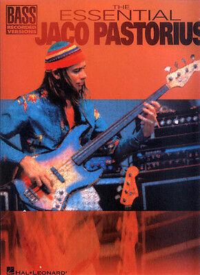 The Essential Jaco Pastorius Bass Noten Tab Songbook