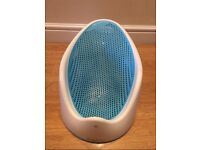 Angelcare blue baby bath support Seat