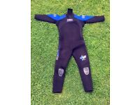 Junior Wetsuit BANANA BITE, size 4 (AGE 9), very good condition