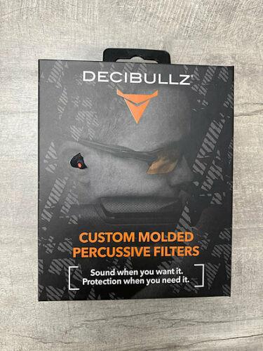 Decibullz Custom Molded Percussive Shooting Filters - BRAND NEW!!!