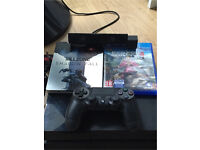 PS4 With 2 Games And PS4 Camera