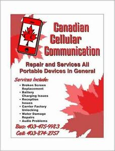 Canadian Cellular Communication Cellphone Repair