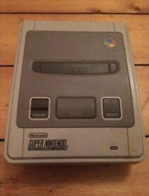 SNES Nintendo console