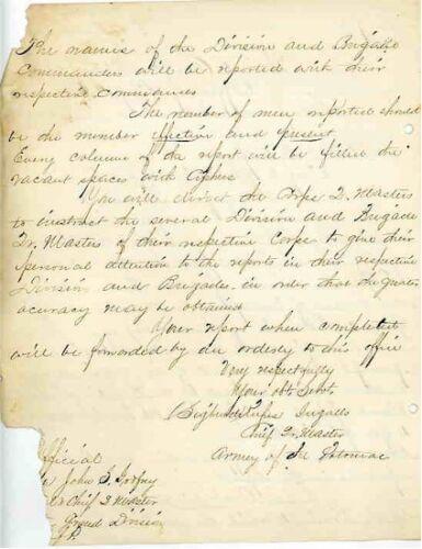 CIVIL WAR LETTERS - JAMES RUSLING 1862