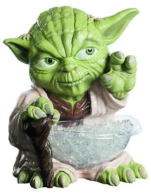 Rubies 368899 - Yoda Small Candy Bowl Holder  Halbstatue + Schüssel ()