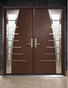Custom Modern Exterior Doors _Matching with Your Home Style