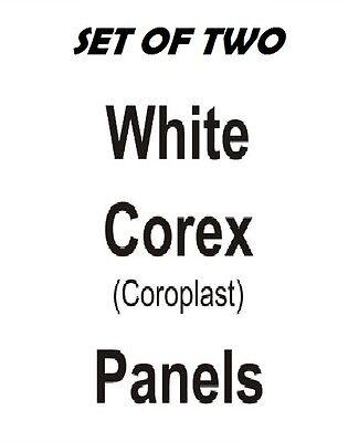 2 Ea 24 X 36 Corex Replacement Panels Sandwich Board Sidewalk Sign Plasticade