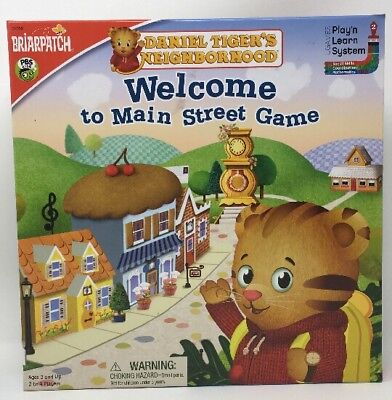 ghborhood Welcome To Main Street Board Game - Ages 3+ (Daniel Tiger Spiel)