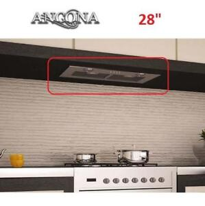 "NEW ANCONA INSERTA II RANGE HOOD 912802 225121672 28"" STAINLESS STEEL BUILT IN KITCHEN RANGES HOODS FAN FANS EXHAUST ..."