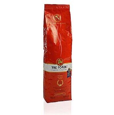 Espresso - TRE FORZE! aus Sizilien, ganze Bohnen, über Olivenholzfeuer geröstet, online kaufen