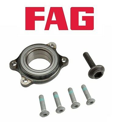 For Audi A4 A5 A6 Quattro Allroad S5 S8 Front L or R Wheel Bearing Kit FAG