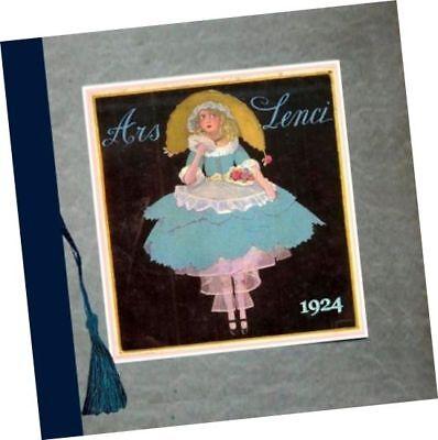Lenci Co Italy 1924 Trade Sample CATALOGUE felt cloth boudoir + child DOLLS - Kids Clothes Catalogue