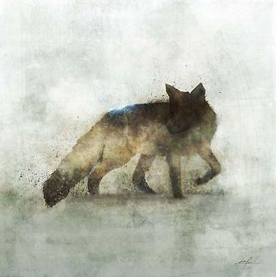 Fabulous Fox (Ken Roko: Fabulous Fox Fertig-Bild 50x50 Wandbild Fuchs Tiere modern)