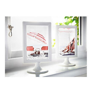 ikea white picture frame double sided wedding birthday party fit 2 photos tolsby