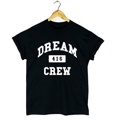 DRAKE DREAM CREW 416 STARTED FROM THE BOTTOM T SHIRT VEST YOLO OVOXO MENS NEW