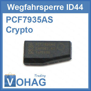 ID44 BMW Transponder Wegfahrsperre PCF7935AS Phillips Crypto Chip AS ID 44 Neu