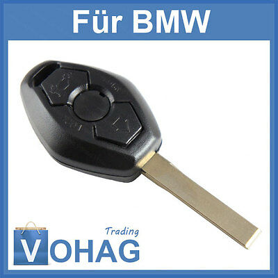 3 Button Replacement Key Housing E39 E53 E60 E63 3 5 Blank Car BMW New