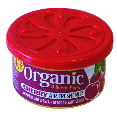 Organic Scent Duftdose in Cherry - Kirsche für Auto + Wohnung Lufterfrischer  ()