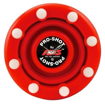 - *SALE* 1 NEW Red IDS Pro-Shot Inline Hockey Puck Fast shipping