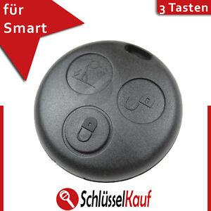 Smart Autoschlüssel Gehäuse 3 Tasten Fernbedienung Gummi ForTwo MC01 450 Ersatz