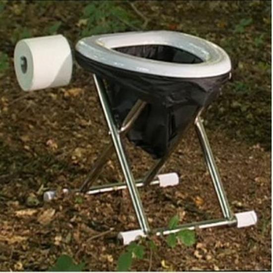 Как сделать туалет в походных условиях