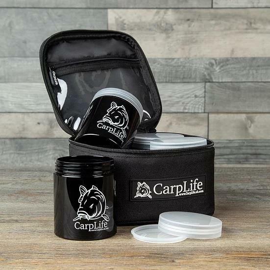 Carplife Hook Bait Pot Kit / Carp Fishing Bait Storage