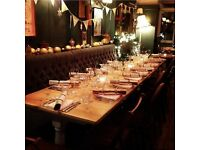 Event Manager – Busy E.London Neighbourhood Pub and Event Business