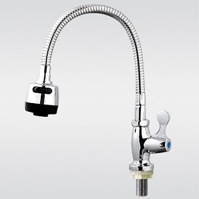 kitchen Taps faucet Chrome pull out wall mount sink faucet 2-function Cobra V