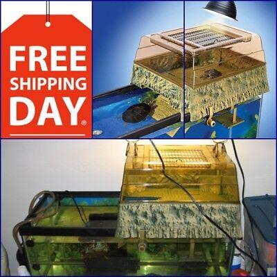 Turtle Topper Above Tank Basking Platform Reptile Aquariums Free Shipping Penn