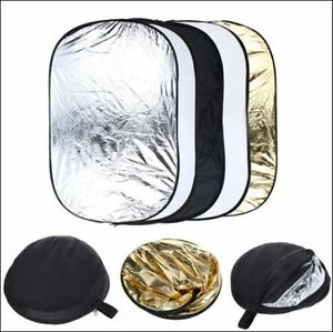 Light Reflector Collapsible for Pro Photography 5-in-1 60x90cm