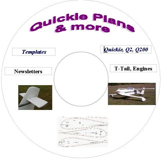 QUICKIE AIRCRAFT PLANS & MORE