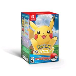Pokemon Let's Go Pikachu with Poke Ball for Nintendo switch