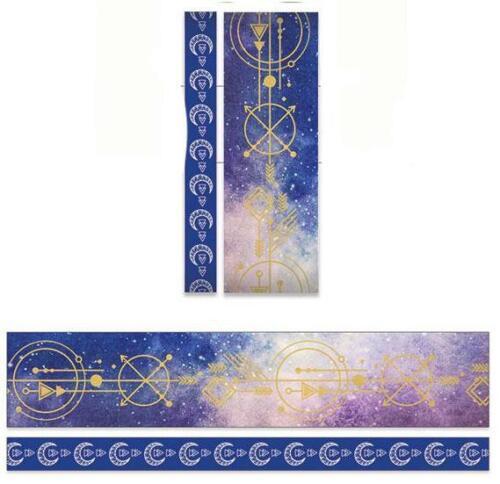 2 Rolls Stargazer Celestial Washi Tape Decorative Planner Supply  DIY Craft