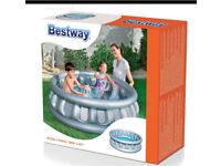 Brand new bestway spaceship swimming pool