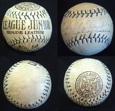 MICKEY COCHRANE, Athletics & Tigers HOF Catcher, signed baseball w/ PSA & JSA