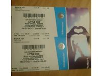 Little Mix tickets x 2 Sheffield Arena - Friday 27 October