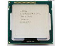 INTEL CPU i7-3770K SOCKET 1155 3.5GHZ 4 CORES 8 THREADS UNLOCKED MULTIPLIER