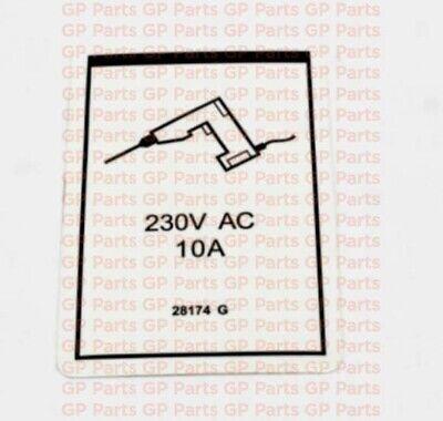 Genie 28174gt Decal - Power To Platform 230vs6065gs1530gs1532gs1930gs1932
