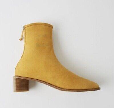 ACNE STUDIOS Bertine suede Boots EU36