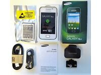 SAMSUNG GALAXY ACE SIM FREE UNLOCKED TO ALL NETWORKS | BOXED WITH ALL ACCESSORIES | REFURBISHED