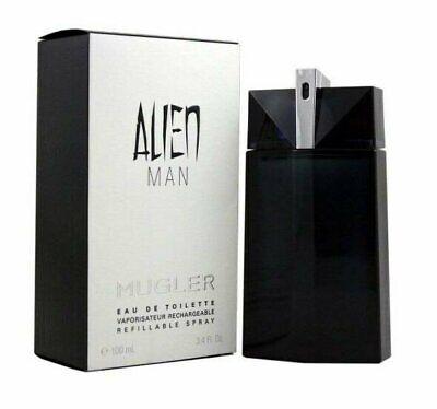 Alien MAN 3.4 oz EDT spray mens refillable cologne 100 ml NIB