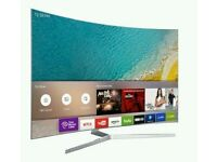 "Samsung 43"" Curved 4K UHD smart wifi new model ue43ku6670HD FREEVIEW"