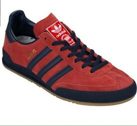 Adidas Originals Jeans MKII trainers size UK 11 in Red - CAN POST