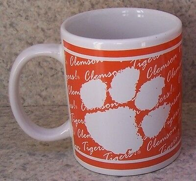 Coffee Mug NCAA Clemson University Tigers NEW 11 ounce cup with gift box