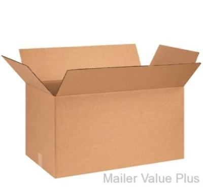 25 - 26 X 10 X 10 Shipping Boxes Packing Moving Cartons Cardboard Mailing Box